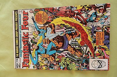Fantastic Four No.236 November 1981 Triple sized 20th Anniversary Issue Marvel