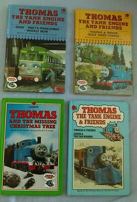 Thomas the tank engine and friends Ladybird book x 4