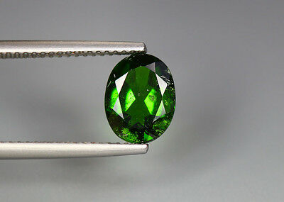 1.87 Cts_Glittering Top Luster_100 % Natural Vivid Green Chrome Diopside_Russia