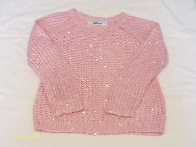 girls clothes yd pink sequin jumper age 5-6
