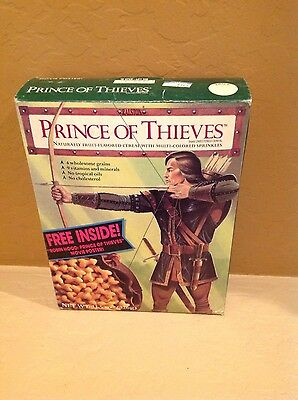 Vintage - Ralston Prince Of Thieves Cereal Unopened