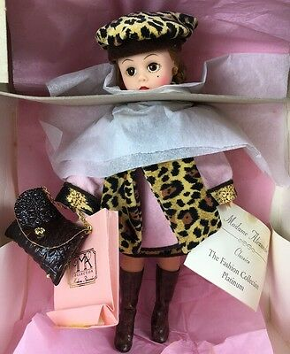 "NRFB Madame Alexander Coral And Leopard Cissette 10"" Doll 22180 Beautiful!"