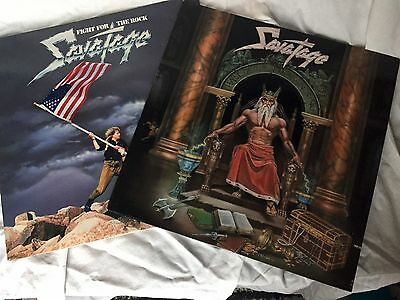Savatage - Hall Of The Mountain King / Fight For The Rock - Viny LP's