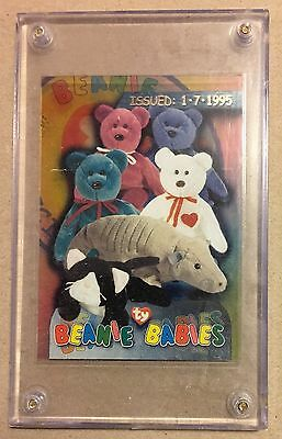 TY Beanie Trading Case Card from Series 3 (1-7-1995)