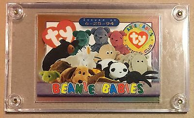 TY Beanie Trading Case Card from Series 3 (6-25-94)