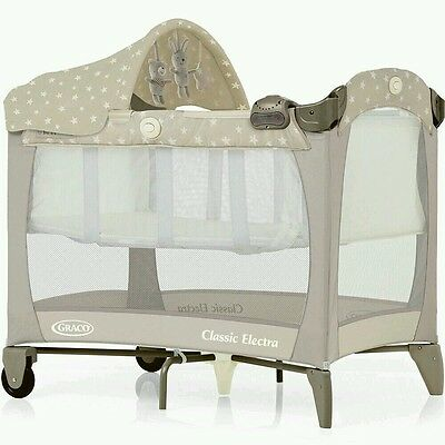 Graco travel cot bed baby infant system mattress RRP £70