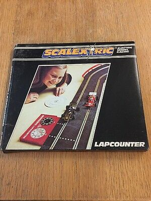 Scalextric Vintage Lap Counter