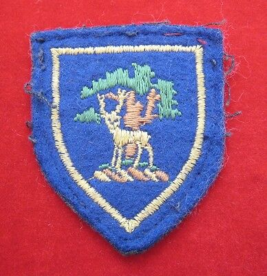 Berkshire Army Cadets (ACF) County Stag sign cloth arm badge