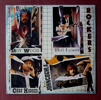"""ROCKERS - We Are The Boys (1983 12"""" in PS) Roy Wood, Phil Lynott, Chas Hodges"""