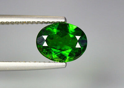 1.72 Cts_Glittering Top Luster_100 % Natural Vivid Green Chrome Diopside_Russia