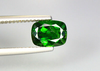 1.60 Cts_Glittering Top Luster_100 % Natural Vivid Green Chrome Diopside_Russia