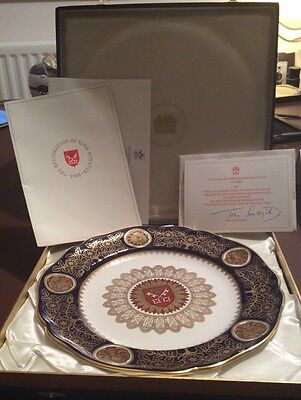 Spode Fine Bone China Limited Edition York Minster Restoration Plate 1984 Boxed