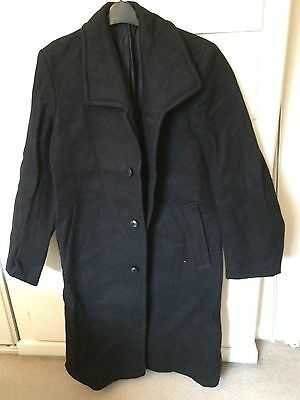 Vintage B.r.(S) (British Rail Southern) Very Rare Heavy Overcoat  Br Buttons