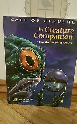Call of Cthulhu The Creature Companion RPG rare excellent condition Chosium inc