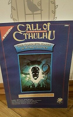 Call of Cthulhu The complete Mask of Nyarlathotep excellent condition Chosium