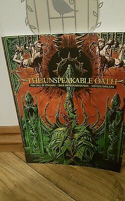 Call of Cthulhu The Unspeakable Oath RPG rare  excellent condition Chosium inc
