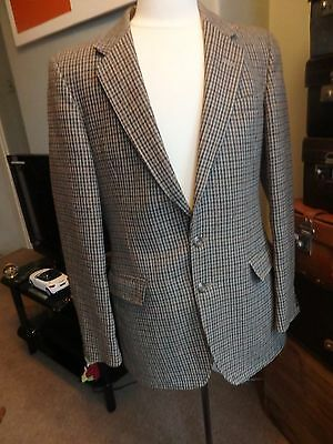 Vintage Crombie Men's Tweed Jacket by Centaur Size 38 S