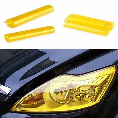 Quality Glossy Wrap Tail Golden HOT Yellow Durable Film Car Headlight Tint