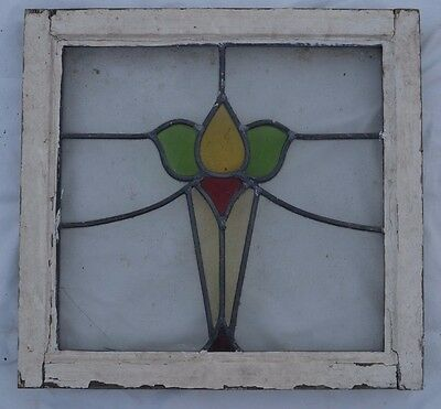 British leaded light stained glass window. B370a. WORLDWIDE DELIVERY!!!