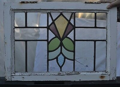 Leaded light stained glass window. B270bii. WORLDWIDE DELIVERY!!!