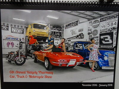 Ridgely Car Show 14 Month Deluxe Wall Calendar Richard Petty Charity