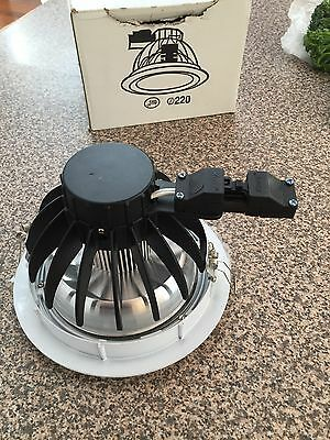 LED Commercial Industrial Down lights - Large Round