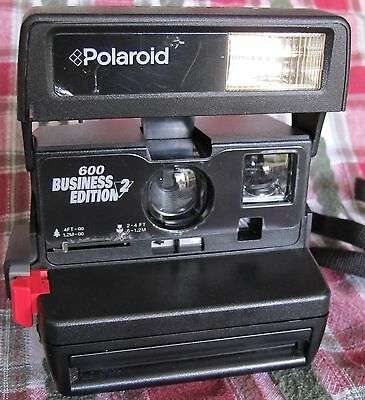 Polaroid 600 Business Edition 2  Film Camera *Tested,  Works* Looks Excellent