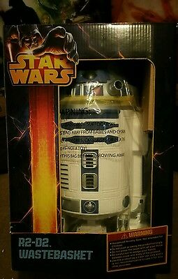 New in Box Rare Giant R2-D2 24 inch 60cm Trash Can Waste Basket Fast US Shipping
