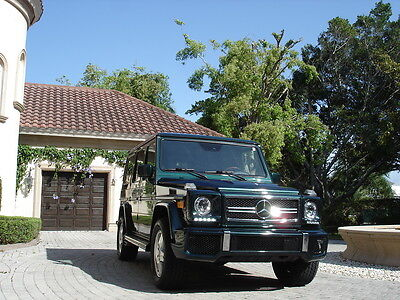 2002 Mercedes-Benz G-Class SUV FLORIDA, G63 CLONE, LED,SIDE PIPES, 2 OWNERS, TAKE TRADES,L@@K