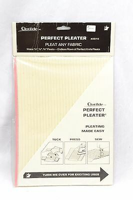 Clotilde Perfect Pleater NEW, FACTORY SEALED *** Free Shipping ***