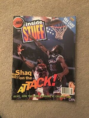 1993 Inside Stuff  Magazines Shaq Attack with Upper Deck Cards