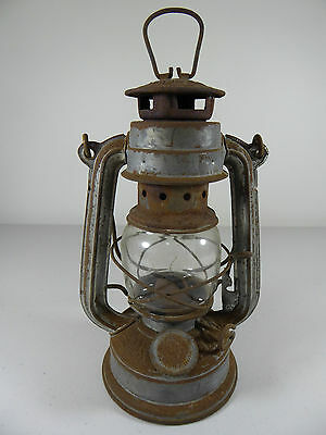Small Vintage Hurricane Lamp, made in China