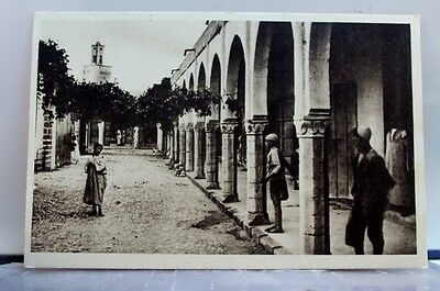 Scenic Mazagan Kissaria And Mosque Postcard Old Vintage Card View Standard Post