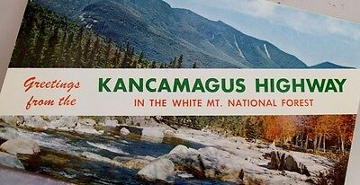 New Hampshire NH Kancamagus Highway Postcard Old Vintage Card View Standard Post