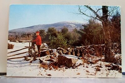 New Hampshire NH Mt Monadnock Postcard Old Vintage Card View Standard Souvenir