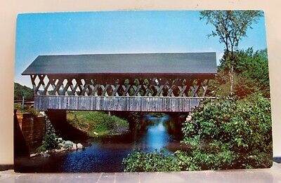 New Hampshire NH Andover Keniston Bridge Postcard Old Vintage Card View Standard