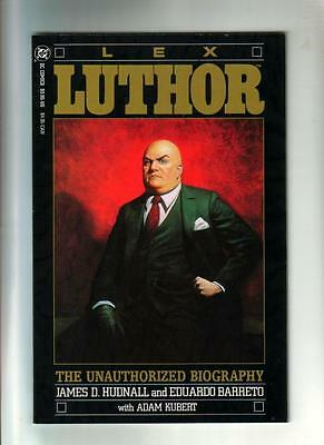 Lex Luthor: The Unauthorized Biography;  DC 1989  NM