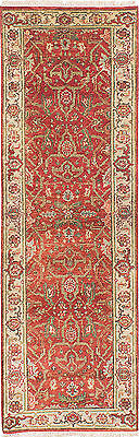 """Hand-knotted  Carpet 2'6"""" x 7'10"""" Serapi Heritage Traditional  Wool Rug"""