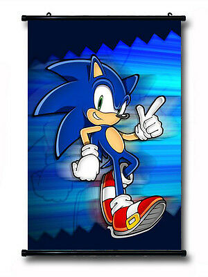 Sonic The Hedgehog 35*25CM Wall Scroll Poster #40163