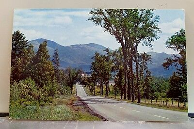 New Hampshire NH White Mountains Presidential Range Postcard Old Vintage Card PC