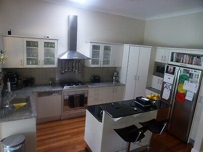 Kitchen with stone benches and Smeg Oven - Roseville Pick Up