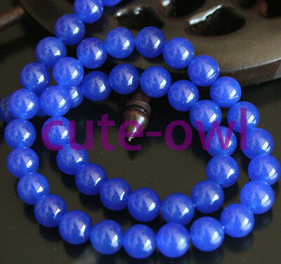 Natural  Gemstone Round Loose Beads 15'' 4mm 6mm 8mm 10mm 12mm