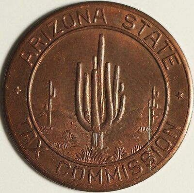 Arizona State Tax Token Commission To Make Change 5 Correct Sales Tax Payment!@!