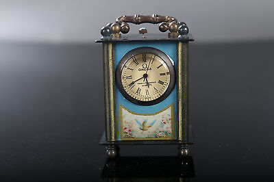 Collectible Old Chinese Brass Handwork Mechanical Globe Clock E079