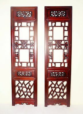 Antique Chinese Screen Panels (5745) (Pair) Cunninghamia Wood, Circa 1800-1849