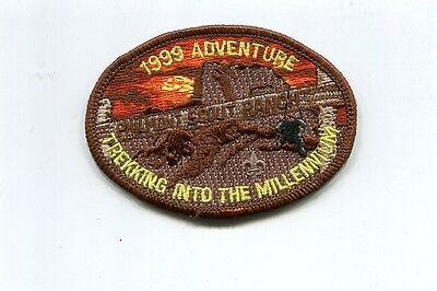 Patch From Philmont Scout Ranch-Adventure  Patch -1999