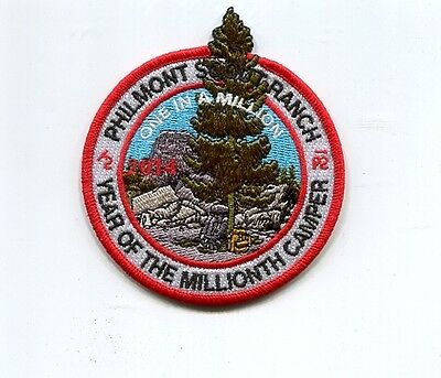 Patch From Philmont Scout Ranch-Adventure  Patch -2014
