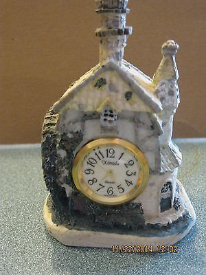 Village Clock Collection In Grist Mill Setting