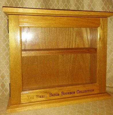 Cabinet The Small Batch Bourbon Collection Shelf Desplay Wood Bar Whisky