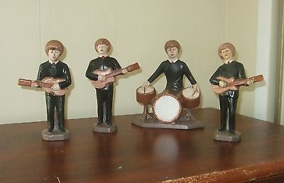 BEATLES.....1963 Holland Mold figurines  NM,  Rare, and 1 of a kind